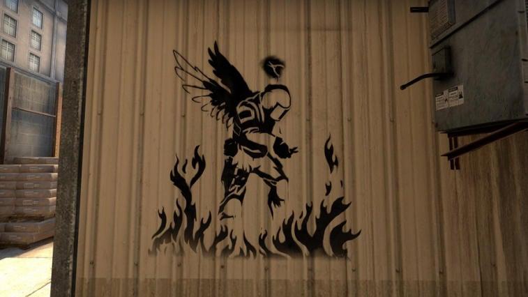История памятных граффити CS:GO. Фото 1