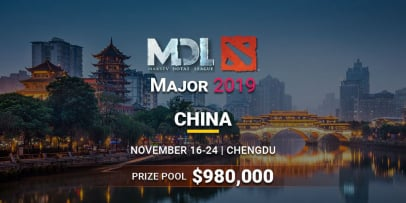 MDL Chengdu Major 2019